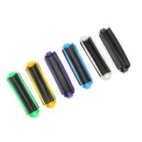 Mini 110mm Uzunluk Sigara Rulo Kağıt Haddeleme Makinesi Koni Filtresi Plastik El MANUAL Haddeleme Baz Sigara İçme Aksesuarları