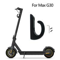 Frente scooter eléctrico cuelga la bolsa de gancho para NINEBOT MAX G30 Almacenamiento Accesorios Percha Negro