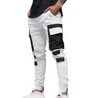 Moda 2020 Streetwear Erkek Çok Kargo Harem Pantolon Hip Hop Casual Erkek Parça Pantolon Cepler Harajuku Koşucular Pantolon