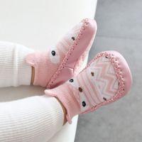 Zapatos de bebé de los primeros caminantes infantiles zapatos de algodón recién nacidos zapatos suaves suela de otoño invierno para niños pequeños para niña niño