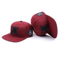 2020 Populares ajustável Designer Caps Acrílico Snapback Hat com o costume bordado promocional Snapback Mens Cap Casquette Com preço de fábrica