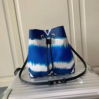Sıcak yüksek kaliteli Tasarımcı Lüks NEO NOE kova çanta Cüzdanlar Kalem Tutucu Kutusu Çanta Bayan Marka Klasik Stil Gerçek Deri Omuz Çantaları