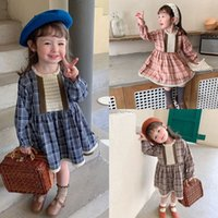 Great Quality INS Spring Autumn Kids Little Girls Dresses Pa...