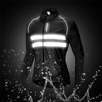1 шт Открытый кемпинга Светоотражающие куртка высокой видимости Водонепроницаемая Running Vest Night езда жилет безопасности Горный велосипед езда Одежда