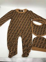 Neue Baby-Strampler Frühlings-Herbst-Baby-Kleidung neue Spielanzug-Baumwoll Neugeborenes Baby-Kind-Designer Jumpsuits Kleidung 3-18mon