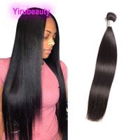 Brezilyalı İnsan Saç Uzantıları One Paketler Uzun İnç 30-40inch İşlenmemiş Remy saç atkıların Düz 38 36 34inch