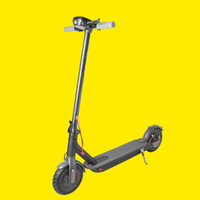 Elektrikli Scooter Katlanabilir Kick E Scooter 250W 7.8AH Katı Lastik Uzun Menzilli Kapalı Yol Bisikleti ile APP Katlanır AB Stok Yetişkin