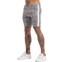 GINGTTO Shorts Homme estiramento Chino Mens Verão Shorts Casual 2020 New Dropshipping zm805 MX200815