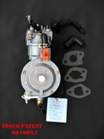Benzinli jeneratör için karbüratör LPG NG propan benzin hibrit 2.8KW 2800W 170F