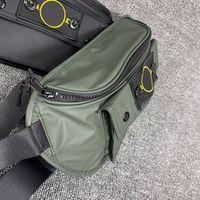 Designer Bloco de Fanny Messenger Bags Luxo Mens Waistbag Moda ombro sacos Marca Crossbody Bag Novo Estilo Luxo Bloco de Fanny 2020859K