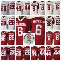 6 Baker Mayfield Oklahoma рано 1 Кейлер Мюррей 28 Адриан Петерсон 44 Брайан Босворт 14 Sam Bradford NCAA колледж футбольных изделий