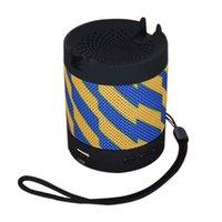 سماعات بلوتوث اللاسلكية شفط تشاك المتكلم سيارة TF بطاقة المتكلم USB تهمة مصغرة mp3 سوبر باس مكالمة تلقي مكبر الصوت المحمولة