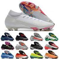 Chuteiras Mercurial Superfly CR7 SE VII 7 Elit FG Soccer Shoes Neymar Mens Women Boys Kids Outdor
