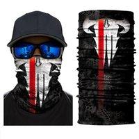 Halloween esqueleto máscara rosto lenço joker headband balaclavas crânio mascarada máscaras para esqui motocicleta ciclismo pescaria esportes ao ar livre fy6098