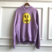 FW Drew House Solid Color Hoodies Men Women Couples Drew Pri...