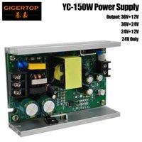 Freeshipping YC-150W Güç Kaynağı İçin 54x3W Led Par Işık / Arka Plan kör Işık / COB Par Lambası Bar Işık Efekt DMX512 Aydınlatma