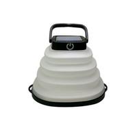 Lampe solaire LED Camping Lanterne Portable Lampe de poche pour la tente de randonnée Puissance de l'énergie solaire / chargeur Étanche imperméable