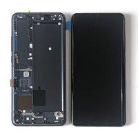 Panneaux tactiles de téléphone portable 6.47 pouces Super AMOLED pour Xiaomi MI Note 10 M1910F4G LCD écran écran Digitizer Assemblage Remplacement des pièces de rechange