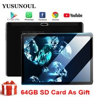Google play 64G SD Card Free 10 inch Tablet Android 9. 0 Tabl...