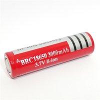 Alta qualità Li-ione 18650 superiore piana 3000AH Rosso batteria al litio 3,7 V può essere usato in LED torcia fotocamera digitale e così via