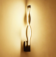 LED Modern Minimalist Wall Lamp For Living Room Bedroom Indoor nordic modern sofa bedside lighting fixture Wall Lamp