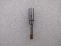 Rzz 4-23mm Tool Power Tool Foret Bit Bit de diamant fritté Sourcette droite pour pierre de carreaux de verre