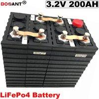 Akku zyklen LiFePO4 3.2V 200Ah für Elektro-Fahrzeug 12V 24V 36V 48V Fahrrad-Lithium
