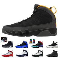 Nike air jordan retro 9  Paspas Melo siyah, kırmızı, beyaz ayakkabı PE Erkekler spor eğitmeni Sneakers Ayakkabı 9S LA Oreo Erkek basketbol ayakkabıları O Do It Rüya 9 9s Bred