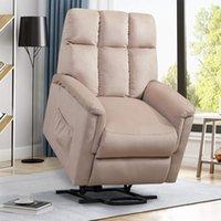 ORI FUR. Power Lift Soft Chair Fabric Recliner Salon Salon Canapé avec PP038656EAA Télécommande