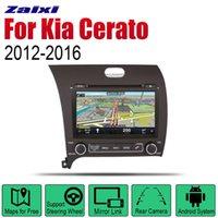 2012 ~ 2020 LHD sistema de navegación GPS BT Wifi Multimedia Mapa Forte 2 Din Android coches reproductor de DVD para KIA Cerato Zaixi radio auto