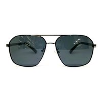 Diseñador de la alta calidad nueva gafas de sol del marco de las gafas de sol completa doble máscara puente anteojos de marco metálico UV Diseño