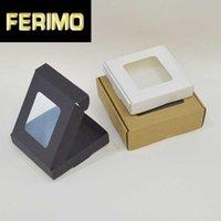 크래프트 Giftboxes입니다은 (17sizes) 10PCS 손수 만든 선물 상자 선물 화이트 블랙 포장을 포장 종이 상자 포장