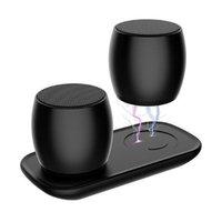 Altavoces de combinación F1 Sistema de Bluetooth Columna Portátil Mini Altavoz Metal 3D Estéreo Estéreo Subwoofer Subwoofer MP3 Player Sardina