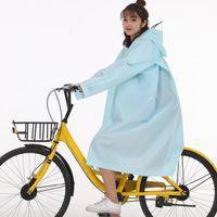 Chaquetas femeninas Unisex Mujeres Hombres Eva con capucha impermeable impermeable Poncho de manga de lluvia de manga larga Abrigo adecuado para ciclismo en días de lluvia y desgaste