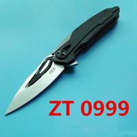 Tolerancia Cero ZT 0999 ZT0999 ZT0999CF balll G10 rodamiento aleta cuchillo plegable de regalo de Navidad BM42 BM43 BM47 BM49 3300 3310