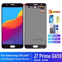 Samsung Galaxy J7 için Başbakan LCD G610 G610F G610M Ekran Dokunmatik Ekran Digitizer Yedek Samsung J7 Prime LCD Için