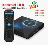 T95 Android 10.0 TV Box H616 Quad Core 4GB + 32GB Unterstützung 2.4G Wireless LAN 6K Caja de tv android PK TX3 H96 A95XF3