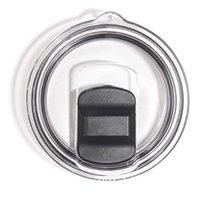 schwarz Magnetic geschoben Deckel auslaufsicher für Kaffeetassen Deckel dicht LID DHL-freien Verschiffen tassen Schlitten