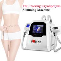 2 ручки Cryolipolysize Fat Freeze Lipofreeze Frezing Cool Country Cleanpting Machine для личного пользования Криотерапия Красота похудения