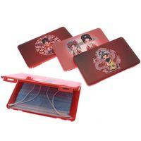 Máscara portátil Dustproof caso à prova de umidade caixa de plástico Máscara Caixa de armazenamento Caixa Banco Cartão Household Container