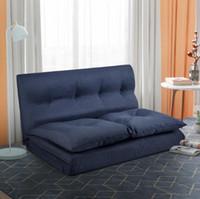 Бесплатная доставка DHL США Stock моды пола Couch и диван Ткань Складные шезлонги Диван Кресло PP019425QAA