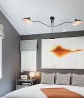 Ayarlanabilir örümcek avizeler tavan aydınlatma, modern avize İskandinav salon parlaklık led ev dekorasyonu Lampadari Lustres loft