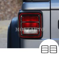 Jeep Wrangler JL Metal Arka Kuyruk Işık Lambası Çıta Kapağı 2018-2019 2adet için