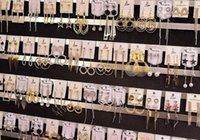 10Pairs / lot Mélanger Style Couleurs Mode Stud Boucles d'oreilles Nail pour Cadeau Diy Craft Bijoux EA025 *