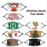 أقنعة أقنعة عيد الميلاد عيد الميلاد المطبوعة الوجه مكافحة الغبار ندفة الثلج الغلاف عيد الميلاد الفم 8 أنماط قابل للغسل قابلة لإعادة الاستخدام أقنعة مصمم CCA12445