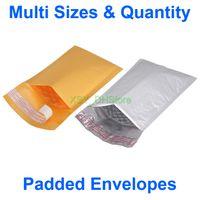 """Multi Größen Menge Kraft / Polygepolsterte Umschläge Taschen Bubble Mailer nutzbare Größe 3 """"4"""" 5 """"x 6"""" 7 """"8"""" Zoll (75 bis 130 mm) * (150 bis 205 mm)"""