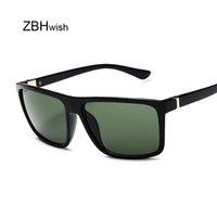 Солнцезащитные очки Черный Квадратные Мужчины Женщины Зеркало Мода Леди Очки UV400 Вождение Солнцезащитные Очки Очки очки DE SOL HOMBRE