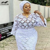 2020 Dernier tissu de la dentelle de la cordon d'africaine Haute Qualité Haute Qualité Haute-Guipure Haute Dentelle pour la fête de mariage nigérian