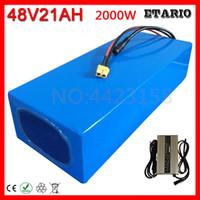48V Batterie 48V 10Ah 12Ah 13Ah 15Ah 16Ah 18Ah 20Ah elektrische Fahrrad-Lithium-Batterie 48V 500W 1000W 2000W Akku + 54.6V Ladegerät.