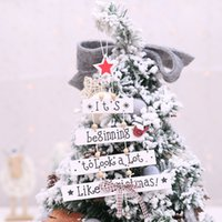 New Christmas Decorations Christmas Tree Pendant Color Letter Pendant Creative Tree Ornament Wholesale Europe And America 2021 New Year